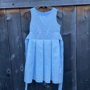 Little Girl Sleeveless Formal Dress